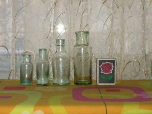 Аптечная посуда зеленого стекла - 8405288.jpg
