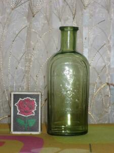 Аптечная посуда зеленого стекла - 3609066.jpg