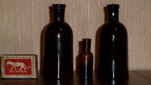 Аптечная посуда коричневого стекла - 4686957.jpg
