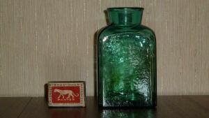 Аптечная посуда зеленого стекла - 7800127.jpg