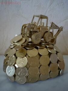 Необычные монеты - поделки из монет...jpg