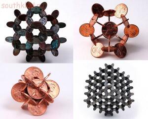 Необычные монеты - поделки из монет....jpg