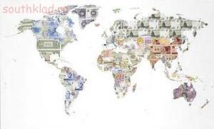 Необычные монеты - поделки из денег ........jpg