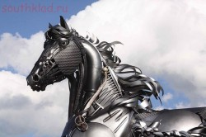 Скульптуры из металлолома. - 3pPzULkeXDM.jpg