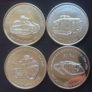 Необычные монеты - танки.....JPG