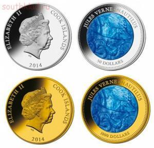 Необычные монеты - наутилус.....jpg