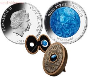 Необычные монеты - наутилус......jpg