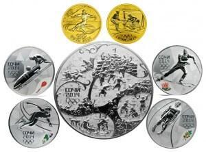 Монеты из драгоценных металлов 2013 года