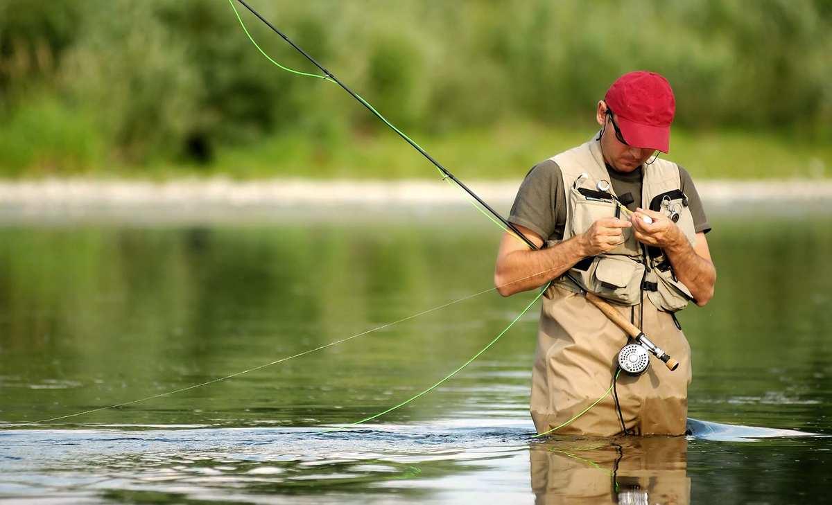 ловля рыбы на веши