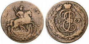 1 КОПЕЙКА 1767