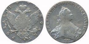 1 РУБЛЬ 1772