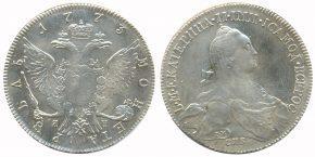 1 РУБЛЬ 1773