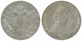 1 РУБЛЬ 1781