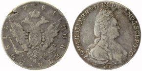 1 РУБЛЬ 1784