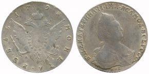 1 РУБЛЬ 1793