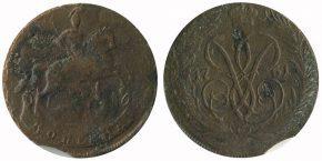 1 КОПЕЙКА 1761