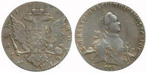 1 РУБЛЬ 1764