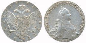 1 РУБЛЬ 1765