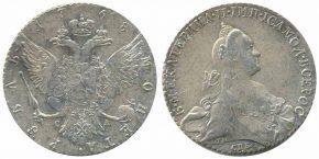 1 РУБЛЬ 1768