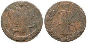 5 КОПЕЕК 1769