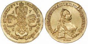 5 РУБЛЕЙ 1763