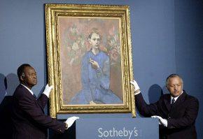 Самые дорогие картины, проданные с аукциона в России