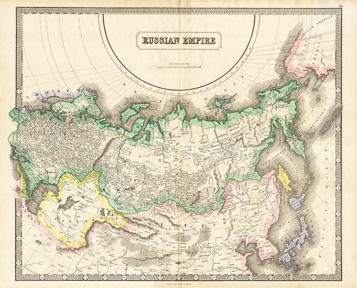 Старые и старинные карты России
